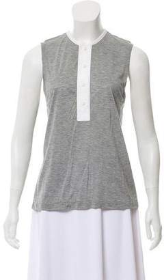 3.1 Phillip Lim Sleeveless Button-Up Top