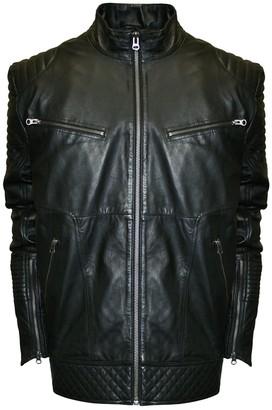 Big & Tall Franchise Club Raw X Lambskin Leather Moto Jacket