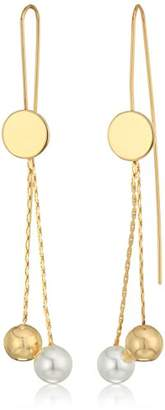 Danielle Nicole Momentum Drop Earrings