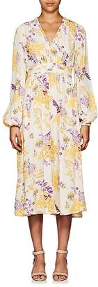 By Ti Mo byTiMo Women's Floral Crepe Midi-Dress