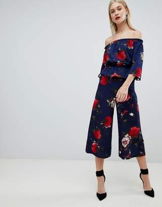 Lipsy wide leg floral culottes
