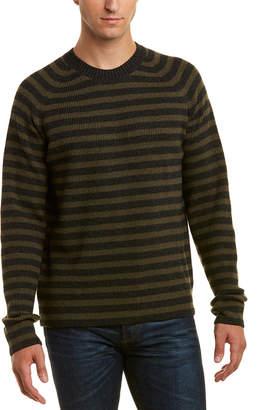 Vince Crewneck Ribbed Sweater