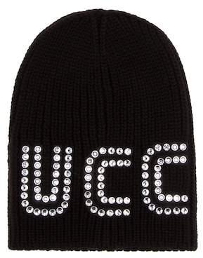 Gucci Crystal-embellished wool beanie