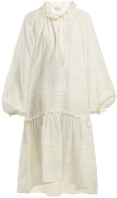 DAY Birger et Mikkelsen LEE MATHEWS Valentine cotton and silk-blend dress