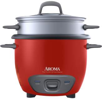 Aroma 14-Cup (Cooked) Pot-Style Rice Cooker & Food Steamer
