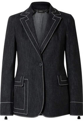 Akris Denim Blazer - Black