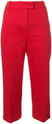 Dondup wide leg cropped trousers