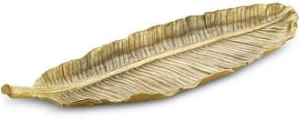 Michael Aram Leaves Gold Banana Large Platter