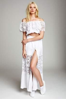 Miguelina Kimora Linen Maxi Skirt
