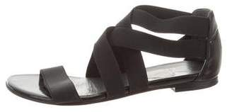 Stuart Weitzman Strappy Elasticized Sandals