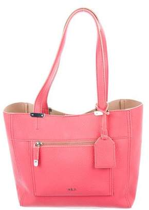 Lauren Ralph Lauren Grained Leather Tote