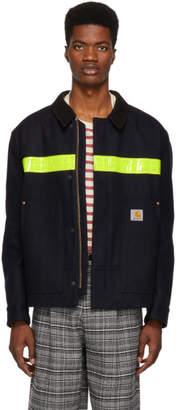 Junya Watanabe Navy Carhartt Edition Melton Jacket