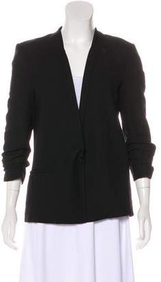 Helmut Lang HELMUT Structured Collarless Blazer