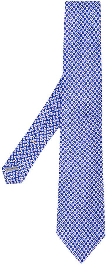 CanaliCanali geometric print tie