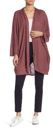 Melrose and Market Dolman Sleeve Throw-On Sweater