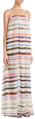 Marysia Cotton Maxi Dress with Silk $409 thestylecure.com