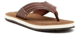 Crevo Marcos Leather Flip Flop
