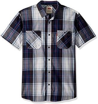 Levi's Men's Pictou Short Sleeve Woven Shirt