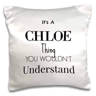 Chloé 3drose 3dRose Its a thing - Pillow Case, 16 by 16-inch
