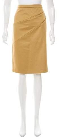 Michael Kors Virgin Wool Knee-Length Skirt w/ Tags