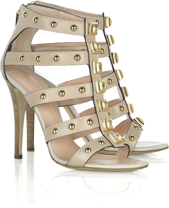 Giuseppe Zanotti Studded gladiator heel sandal