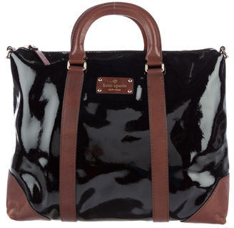 Kate Spade New York Two-Tone Leather Satchel $145 thestylecure.com