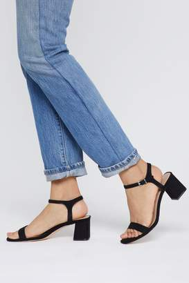 Nasty Gal A Low It Flare Block Heel Sandals