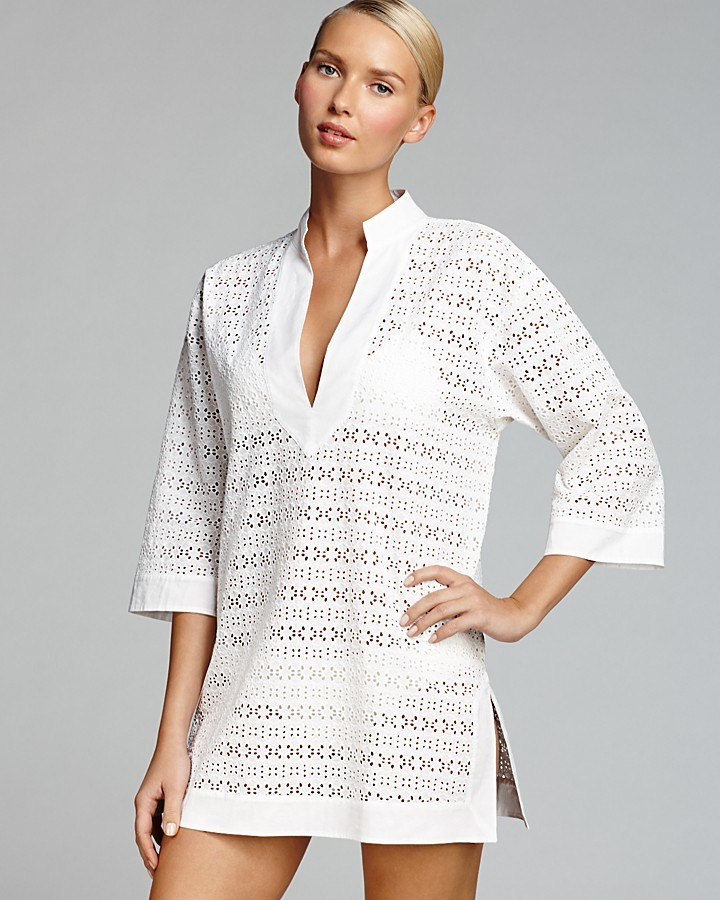 Tory Burch Encintas Cover Up Tunic