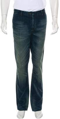 Ralph Lauren Black Label Straight-Leg Jeans