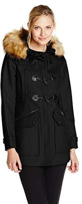 Andrew Marc Women's Cara Wool-Blend Toggle Coat
