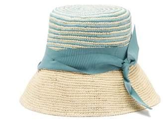 Sensi Studio - Hippie Woven Straw Hat - Womens - Blue