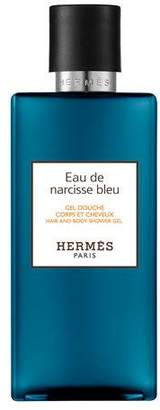Hermes Eau de Narcisse Bleu Hair and Body Shower Gel, 6.7 oz.