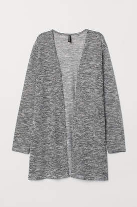 H&M Loose-knit Cardigan - Black