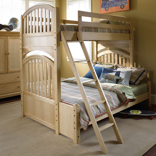 Mix and Match Slat Bunk Bed