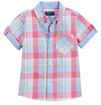 Andy & Evan Plaid Shirt (Toddler & Little Girls)