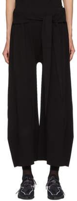 Issey Miyake Black Trapezoid AP Lounge Pants