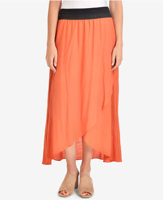 NY Collection Tuwa Tulip-Hem Skirt