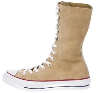 Converse J.W. Anderson Suede Mid-Calf Sneakers