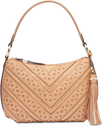 Calvin Klein Holly Pebble Studded Large Hobo