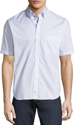 Tailorbyrd Foulard Short-Sleeve Sport Shirt