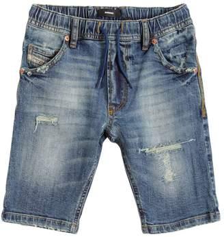 Diesel Stretch Cotton Denim Shorts