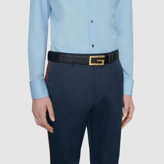 Gucci Reversible belt with Square G buckle