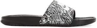 Nike Benassi Just Do It Print Slide Sandals
