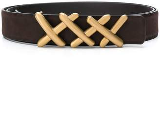 Ermenegildo Zegna criss-cross belt