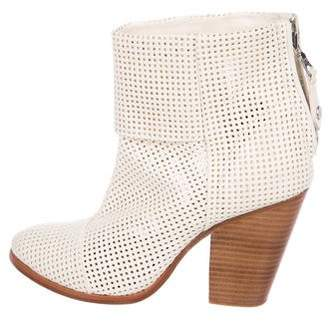 Rag & Bone Perforated Leather Booties