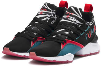 PUMA x SHANTELL MARTIN Muse Maia Graphic Women's Sneakers