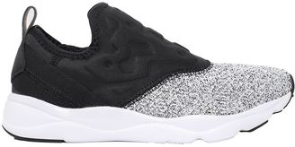 Reebok - Furylite Neoprene Slip-on Sneakers $82 thestylecure.com