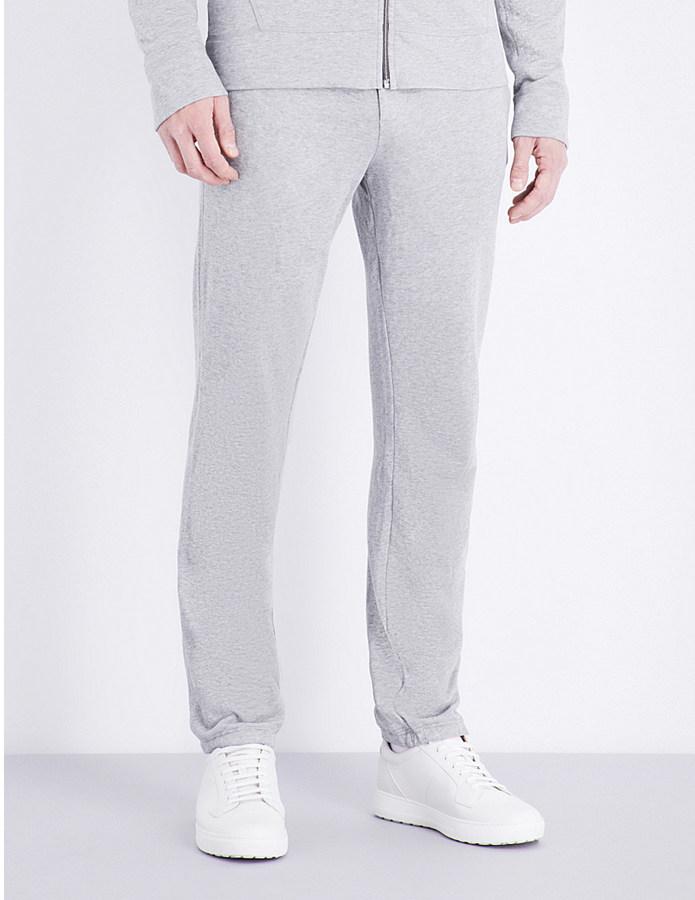 JAMES PERSE Vintage cotton-jersey jogging bottoms
