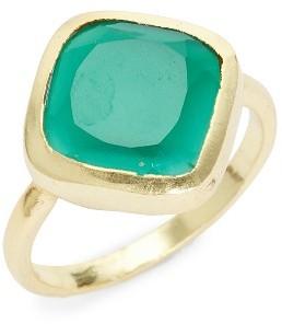 Women's Karen London Penny Quartz Ring $45 thestylecure.com