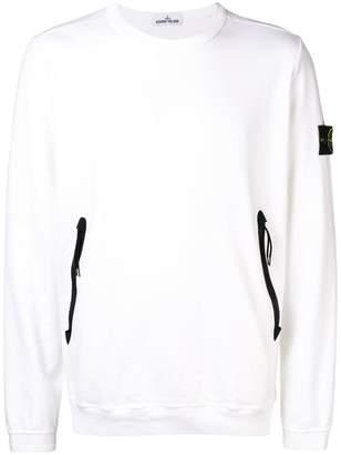 Stone Island side zip sweatshirt